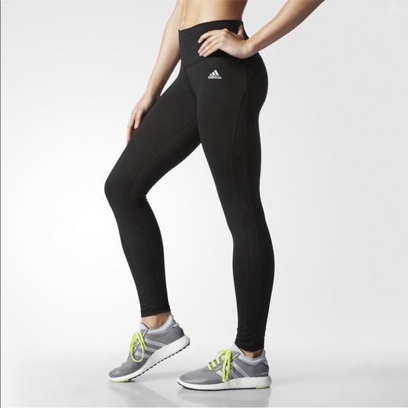 Adidas Performer Mid Rise Long Tights, Medium NWT
